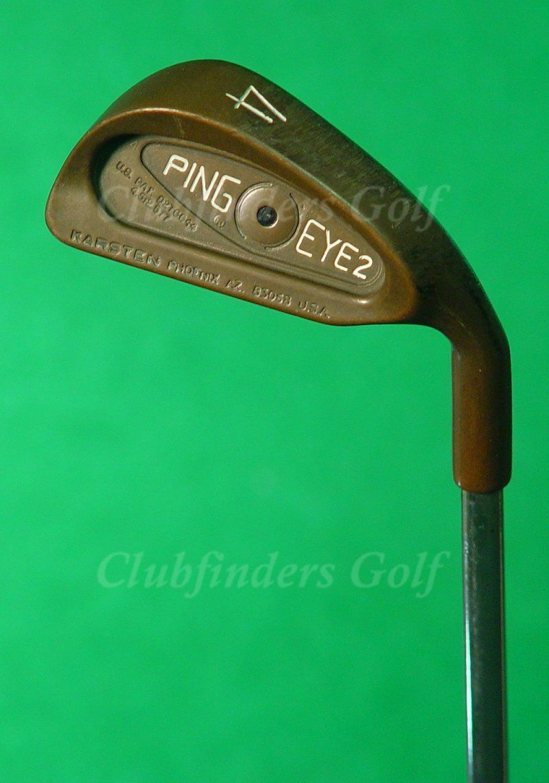 Ping Eye  2 Becu cobre Punto Negro Hierro 4 solo Karsten ZZ-Lite Acero rígido  80% de descuento
