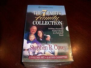 Franklin-Covey-The-7-Habits-Family-Collection-3-Volume-Set-6-Audio-Cassettes-NEW