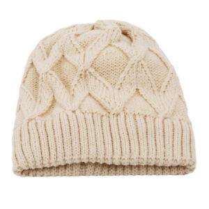 Unisex-Solid-Color-Plain-Beanie-Warm-Ski-Cap-Winter-Knitting-Hat-Cap-Hot-LC