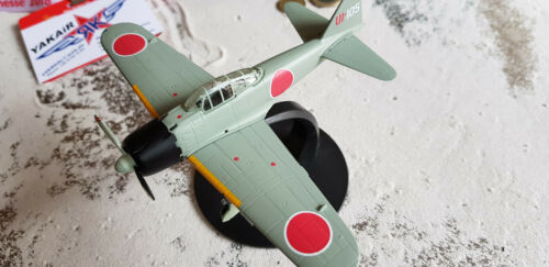 MITSUBISHI ZERO JAPAN 1943 1:72 Atlas caccia aereo//AVION//Aircraft//yakair