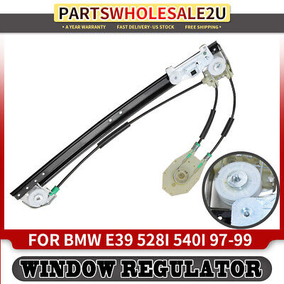 Power Window Regulator for 1997-1998 BMW 528i 540i Rear Left Right without Motor