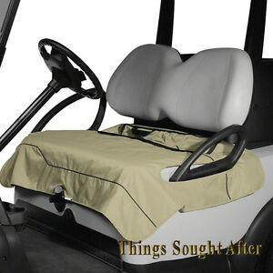Khaki Golf Cart Seat Blanket Bench Lap Cover E Z Go Club