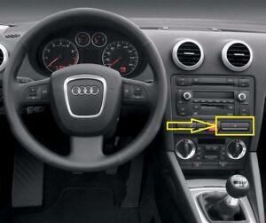 Genuine-Audi-A3-8P-04-07-Frente-Flip-a-Sostenedor-De-Taza-Negro-8P0862534C5PR