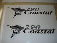 Wellcraft Coastal 290 Fishing Boat Decal Set