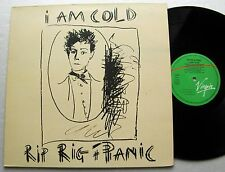 RIP RIG + PANIC I am cold FRENCH Orig LP VIRGIN 204999 Don CHERRY post punk MINT