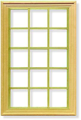 1:12 Scala 15 Georgiano Riquadro Finestra & Cornice Casa Delle Bambole Accessorio In Miniatura 073-mostra Il Titolo Originale Vendite Economiche