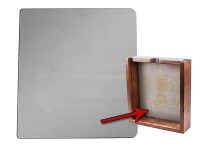 Heavy Duty Trap Backstop Use with AGE Quiet Pellet Trap for Guns up to to 20 lbs