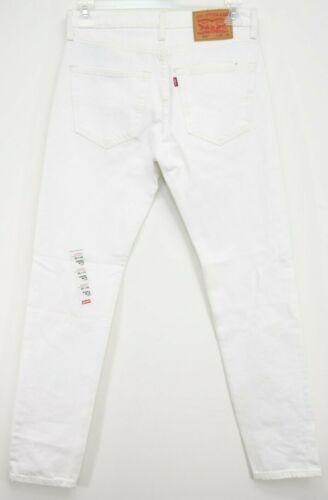 Levis Mens 512 0554 White Painter Slim Fit Taper L