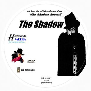 THE-SHADOW-243-Shows-Old-Time-Radio-In-MP3-Format-OTR-On-1-DVD