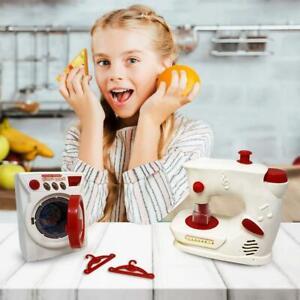 Enfants semblant Playset Ménage Jouets Machine À Laver Cuisine Blender Set