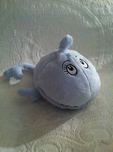 "13"" Blue Whale 2005 Dr. Seuss If I Ran The Circus Kohl's Plush Stuffed Animal"