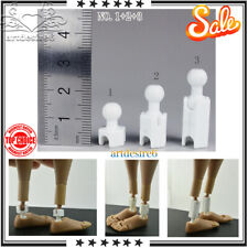 """5 Pair 1:6 Scale  Toy Accessory Heighten Feet connector F 12/"""" Male Figure Body B"""