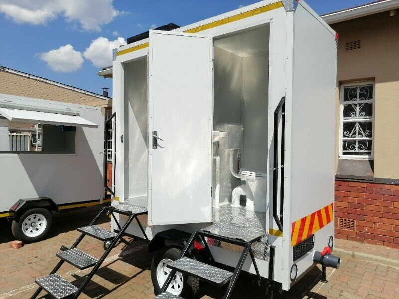 Mobile Toilets. Double Units VIP. For sale!