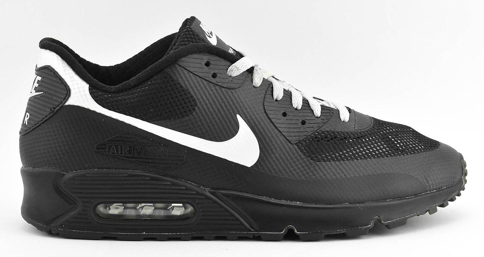 Nike air max 90 hyperfuse premium - schuhe der 488033 größe 12 schwarz - weiß - 488033 der 7244fb