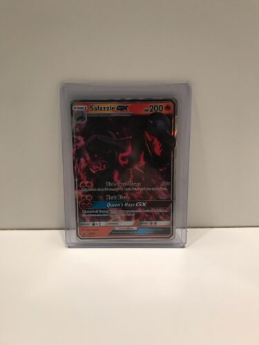 Mint//Near Mint Pokemon TCG Salazzle GX SM63 Sun /& Moon Promo!