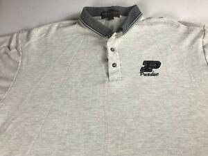 Purdue-Boilermakers-Polo-Shirt-VTG-90s-Mens-3XL-Golf-University-Student-Alumni