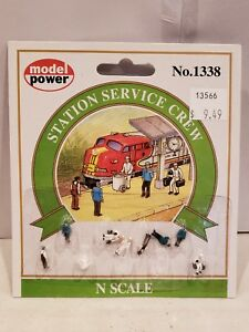 New Sophisticated Technologies N Scale Model Power #1338 Station Service Crew