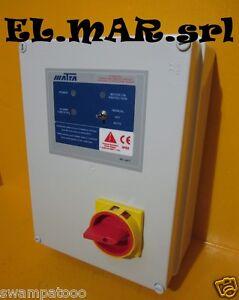 Schema Quadro Elettrico Per Pompa Sommersa Trifase : Quadro elettrico elettropompa monofase pompa hp 1 1 5 2 3 matra ebay