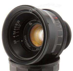 JUPITER-12-35mm-f2-8-2-8-Objective-USSR-Lens-M39-LTM-Leica-M-FED-Zorki-RF-Biogon