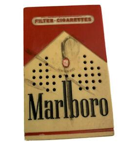 Vintage Marlboro Transistor AM Radio WORKING