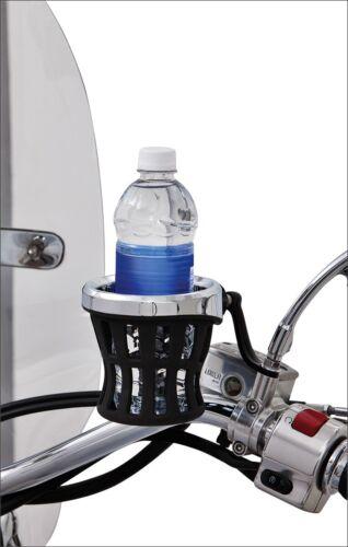 Ciro Universal Mirror Stem Mount for Drink Holder for Harley or Metric Models