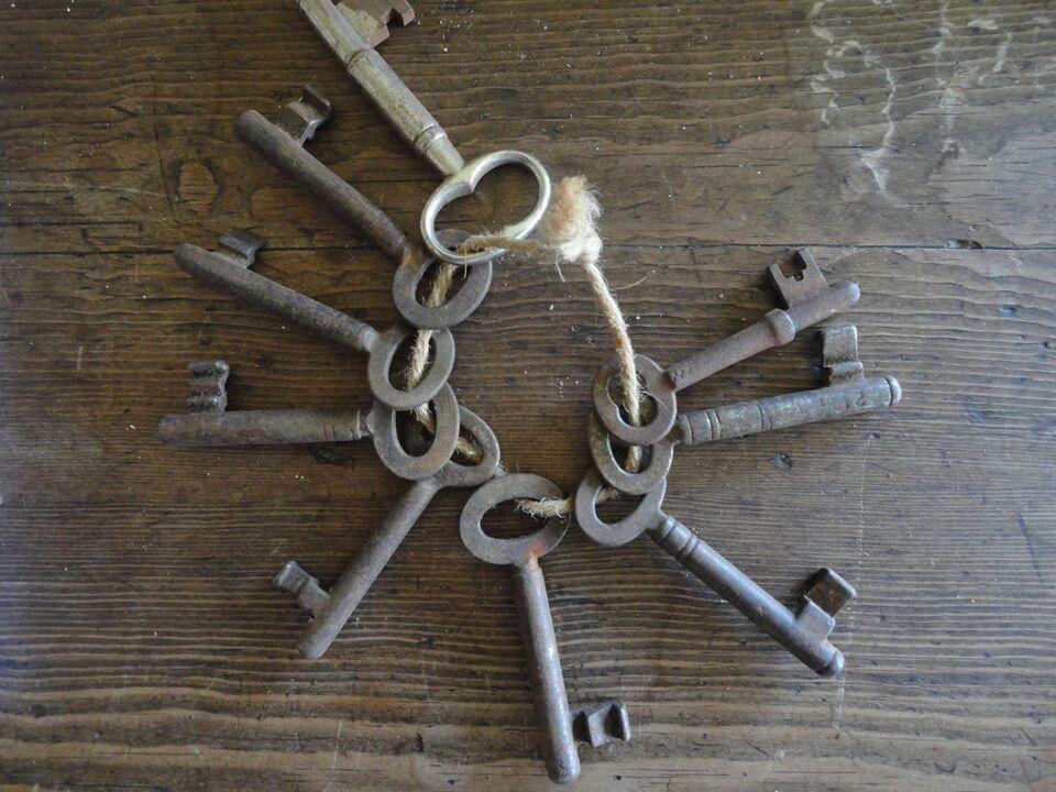 Andre samleobjekter, Nøgler