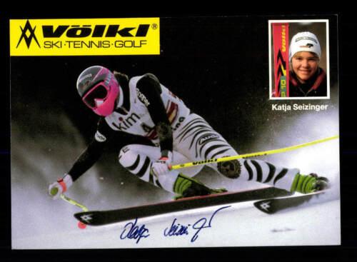 Katja Seitzinger Autogrammkarte Original Signiert Ski Alpine A 165876