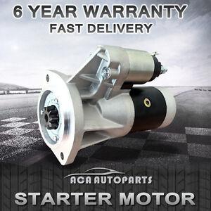 Starter-Motor-for-Nissan-Navara-D21-D22-TD24-TD27-Terrano-R20-ZD30-Urvan-Cabstar