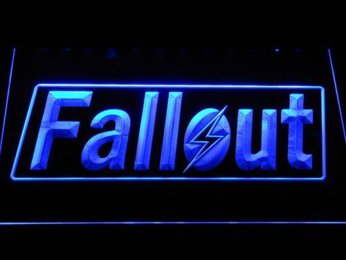 Fallout game room bier Bar 3D Leuchtreklame Neonzeichen Leuchtschild Leuchte led
