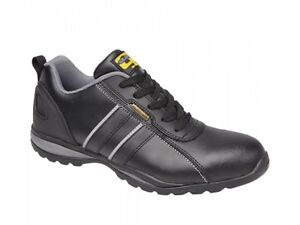 Grafters-Mens-Womens-Ladies-Leather-Suede-Lace-Up-Steel-Safety-Trainers-Shoes