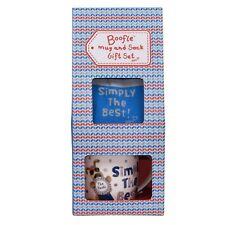 Boofle Amazing Mum Gift Set Socks /& Mug 50237