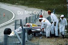 Rupert Keegan March 821 Swiss Grand Prix 1982 Photograph