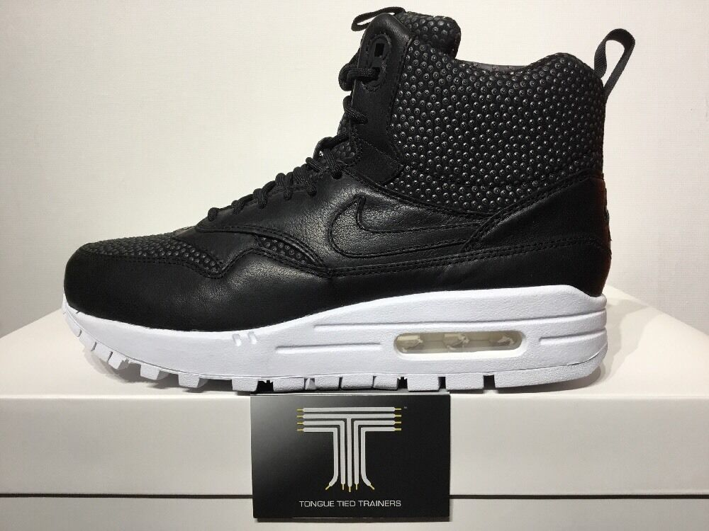 Nike Air Max 1 Sneakerboot Tech 826601 ~  170 ~ 826601 Tech 001 ~ Size 6 ~ Euro 40 99257e