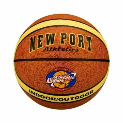 New Port Ballon de basket en cuir PVC laminé Ballon de basket-ball