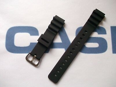 Fein Casio Mrw-200h Resin Aftermarket 18mm Water Resistant Divers Style Watch Strap