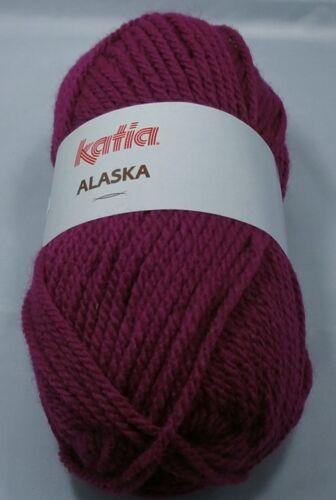 Alaska 25 Farben 100 gr Katia ; dicke Wolle