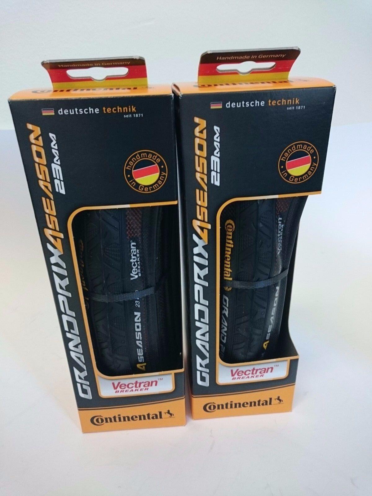 Paquete De 2-Continental Grand Prix 4 temporada 700 23c 25c 28c Bicicleta De Carretera Neumáticos Plegable