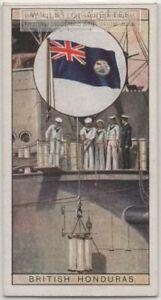 Colonial-Flag-British-Honduras-Belize-Central-America-80-Y-O-Ad-Trade-Card