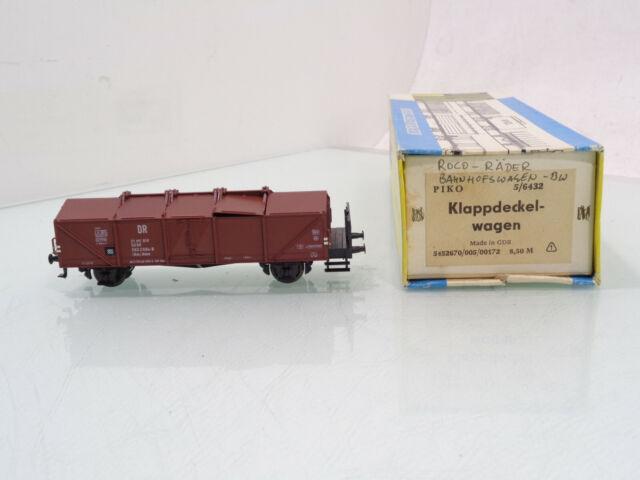 Piko 54436 H0 Klappdeckelwagen Kmm 21 der DR Ep III Neu in OVP