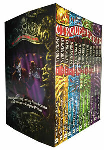 The-Saga-of-Darren-Shan-12-Books-Collection-Set-Cirque-du-Freak-Children-Pack-NW