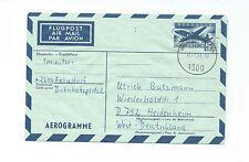 Österreich Aerogramm-Brief Flugpost Luftfahrt Flugzeug Avion Air Mail