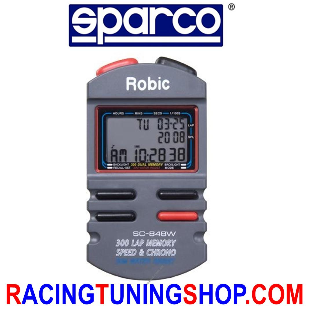 Cronometro sparco sc-848w con con con 300 memorie e funzione speed - speed%chrono 99cb59