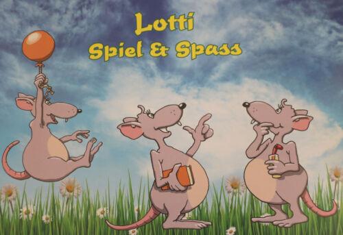 Lotti-Leseratte// 11 teiliges Konvolut Neu// OVP//mit div.Artikeln und Plüschtier
