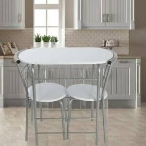 esstisch mit 2 stühlen 85x51cm küchentisch esszimmertisch