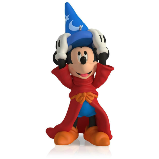 Hallmark 2015 The Sorcerer's Apprentice Disney Mickey's Movie series Ornament