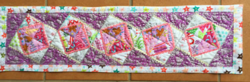 CHRISTMAS Patchwork TABLE Runner Pre cut FABRIC KIT /& PATTERN make yourself