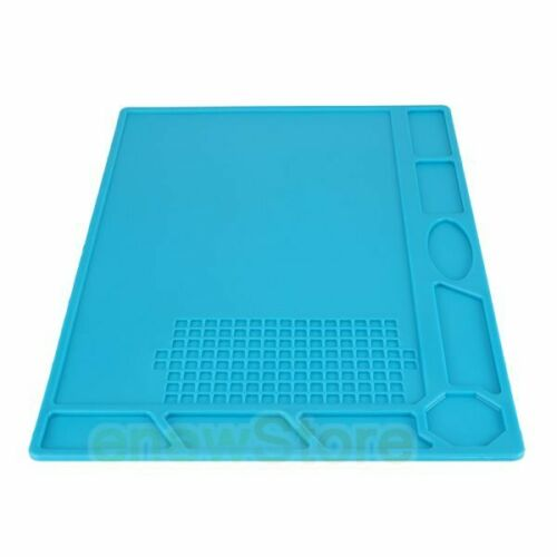 32x23cm Magnetic Heat Insulation Silicone Pad Mat Platform For Soldering-US Ship