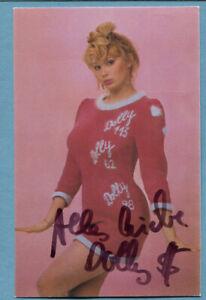 Dolly Dollar (Christine Zierl) Autogrammkarte von 1981 | eBay