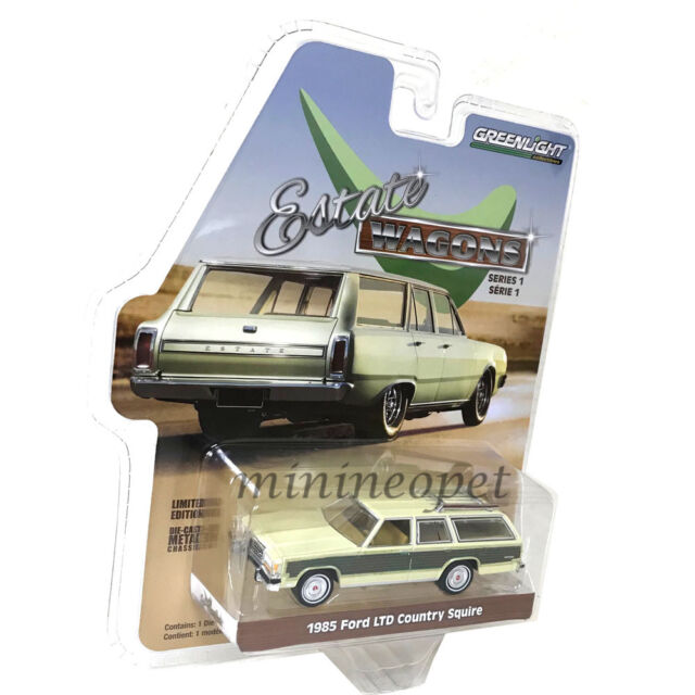 Estate Wagons Release 1 Set of 6 Cars 1/64 Diecast Models by Greenlight  29910