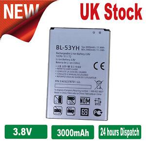 LG-G3-F400-D830-D850-D851-D855-VS985-Liion-Battery-BL-53YH-3-8V-3000mAh-New